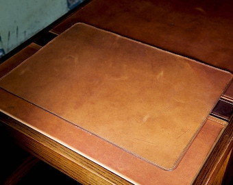 leather desk pad etsy rh etsy com leather desk blotter canada leather desk blotter uk