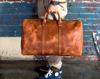 Travel Bag , Luggage Bag , Leather Travel Bag , Leather Luggage Bag , Horween Leather