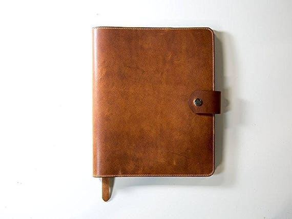 Horween Leather Padfolio Natural Dublin Leather Padfolio