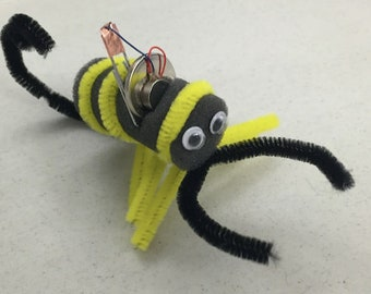 The #BumbleBot & Friends! Make 4 different motor project bugs Ages 5+