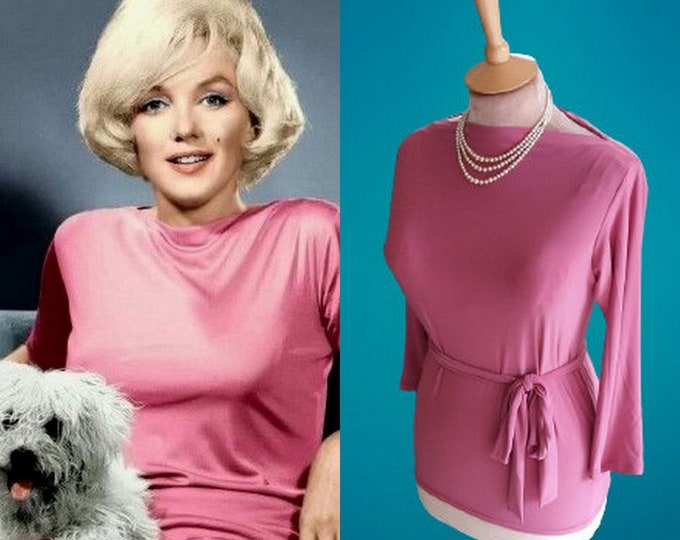 Ready now...Marilyn Monroe...Pucci blouse (Extra small)