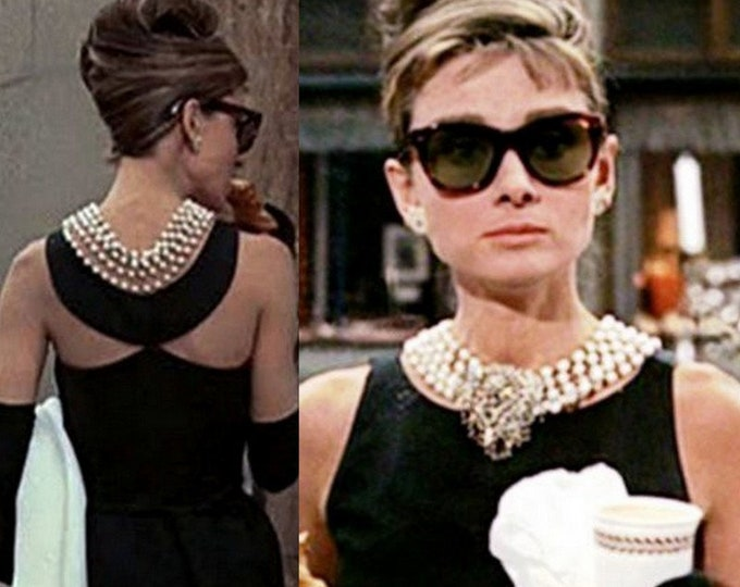 Ready next week...Audrey Hepburn...Breakfast at Tiffany's long velvet skirt with matching top. (Small)