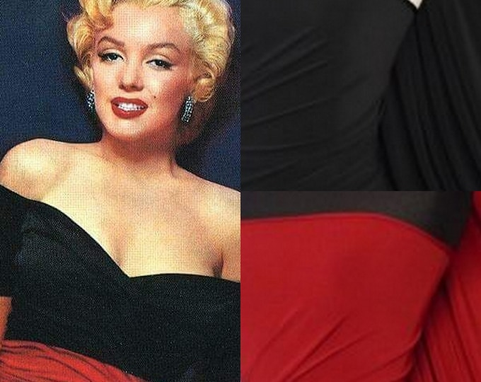 NEW...Marilyn Monroe ruched dress