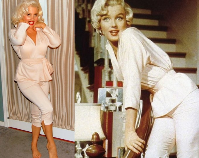 Marilyn Monroe...7 year itch pedal pushers set.