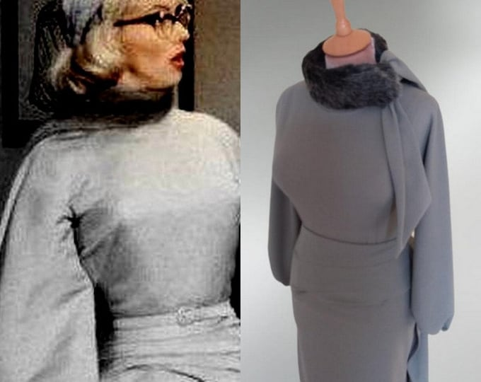 Ready now...Marilyn Monroe.. How to marry a millionaire top and matching skirt (Small)