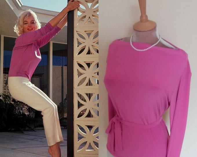 Marilyn  Monroe...Pucci blouse