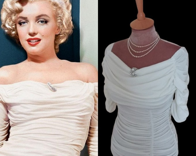 To order....Marilyn Monroe ruched top