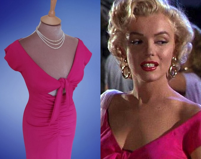 Ready now...Marilyn Monroe...21st Century 'Niagara' dress