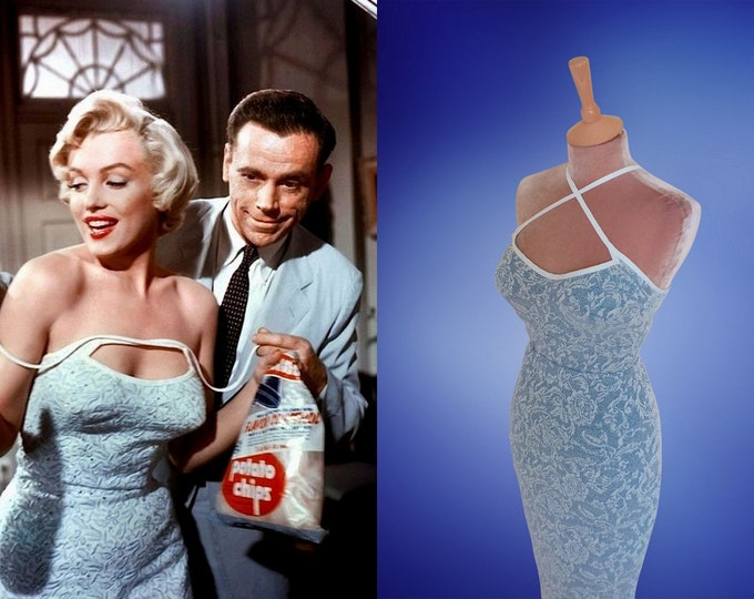 Marilyn Monroe...7 year itch top and wiggle skirt