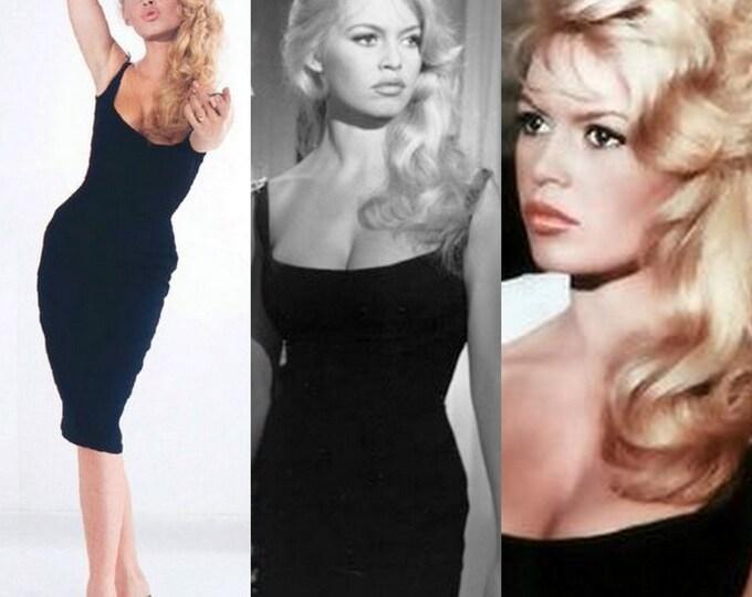 Brigitte Bardot...Little black dress