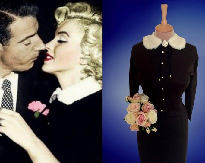 Marilyn Monroe wedding suit