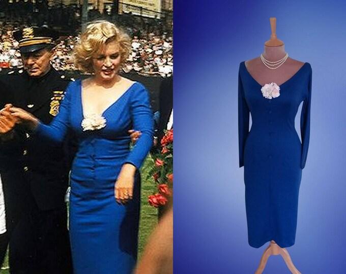 Marilyn Monroe...Ebbets Field dress 1957.