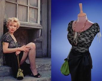 Marilyn Monroe...Bus Stop drawstring bag