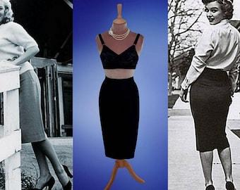 Marilyn Monroe...Classic wiggle skirt