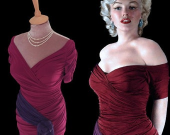 Ready soon...Marilyn Monroe ruched top with matching skirt
