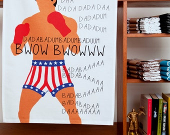 Boxer Theme Towel