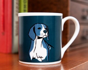 Beagle Fine Bone China Dog Mug