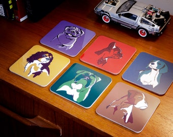 Dog Coasters - Set of 6