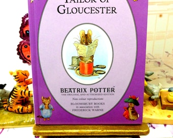 The Tailor of Gloucester First Edition Purple Bloomsbury Book 1993 Beatrix Potter Childrens Story Ladybird Size
