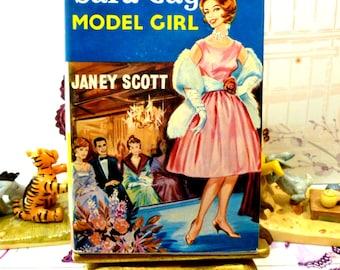 Sara Gay Model Girl Janey Scott Rare Vintage Hardback Cult Fashion Story First Edition 1961 with DW