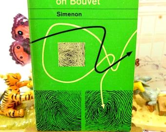 Vintage Penguin Paperback Inspector Maigret Inquest on Bouvet by Georges Simenon Crime Fiction