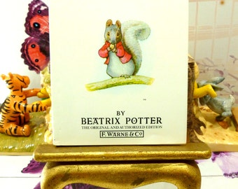 The Tale of Timmy Tiptoes Beatrix Potter Beautiful Illustrations Vintage Hardback Book 1st Edition Thus