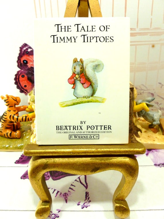 Items Similar To The Tale Of Timmy Tiptoes Beatrix Potter Beautiful