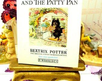 The Tale of the Pie and the Patty Pan by Beatrix Potter Beautiful Illustrations Vintage 1989 Hardback Book Dust Wrapper