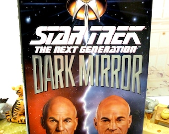 Star Trek Dark Mirror 1st Ed 1st Printing Star Trek Novel Hardback with Dust Cover Pocket Books 1993