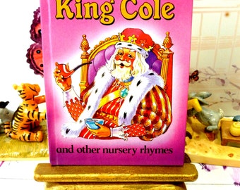 Vintage LadyBird Book Old King Cole all the favourite Childrens Nursery Rhymes Lovely illustrations Glossy Cover 1985