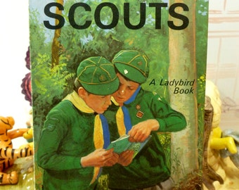 The Cub Scouts Vintage LadyBird Book Series 706 First Edition Matt Cover 1970 Scouting Guide Great Info