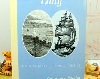 This is Illyria Lady Jane Austen Interest Book Life  Rambles Friends Constance Pilgrim 1st Edition Hardback with DW