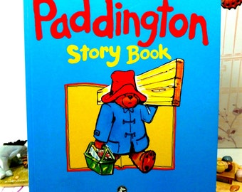 The Giant Paddington Story Book Vintage Hardback by Michael Bond Paddington Bear First Edition 1989