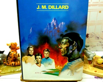 Star Trek Mindshadow Spock 1st Ed 1st Printing Star Trek Novel Hardback with Dust Jacket 1987