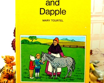 Rupert and Dapple Mary Tourtel Little Bear Library number 10 1970s Vintage Hardback Rupert Book 1st Ed