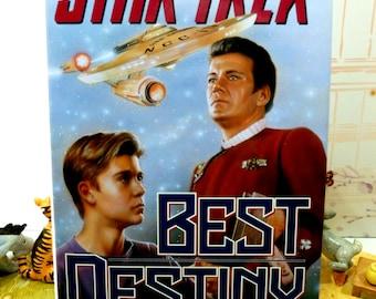 Star Trek Best Destiny 1st Ed 1st Printing Star Trek Novel Hardback with Dust Cover Pocket Books 1992