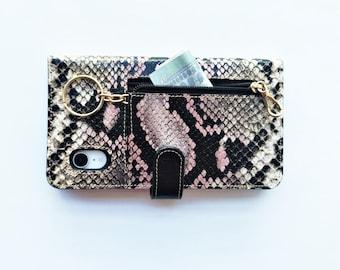 iPhone XR leather case, iPhone XR leather case, iPhone xr case bag, made in Spain, Handmade. Mod. Idole