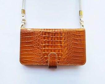 iPhone 6/6s leather case, iPhone 6/6s leather case, Women iPhone wallet, iPhone leather wallet, case for iPhone 6/6s. Mod. Camel