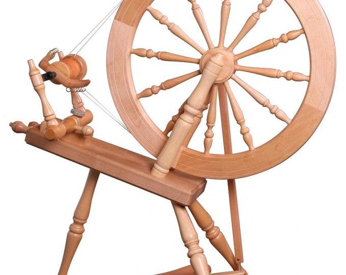 Ashford Elizabeth 2 Spinning Wheel -Lacquered