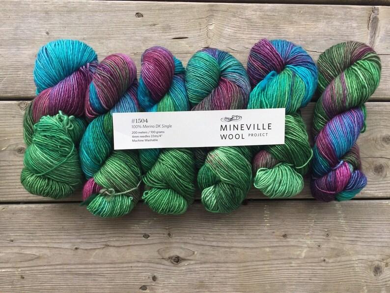 Mineville Wool Project Merino DK Single yarn
