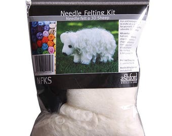 Ashford Beginner Needle Felting Kit (4 types)
