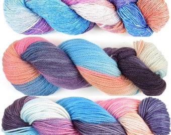 Handmaiden Wanderlust Islands Series Woolie Silk in Santorini colourway