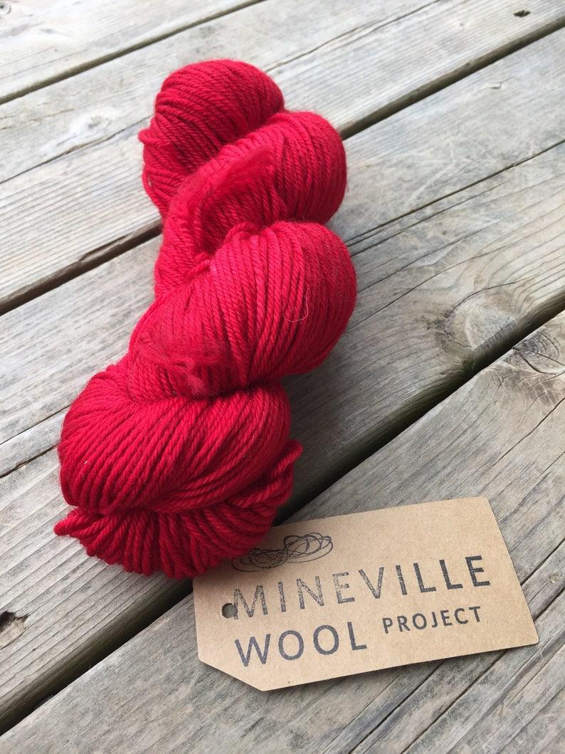 Mineville Wool Project Merino 48 DK