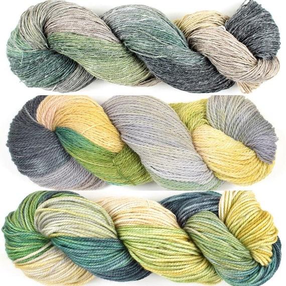 Handmaiden Wanderlust Islands Series Woolie Silk in Faroe Islands colourway