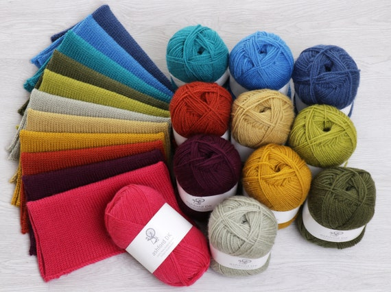 Ashford DK Double Knit Yarn: Fashion Colours