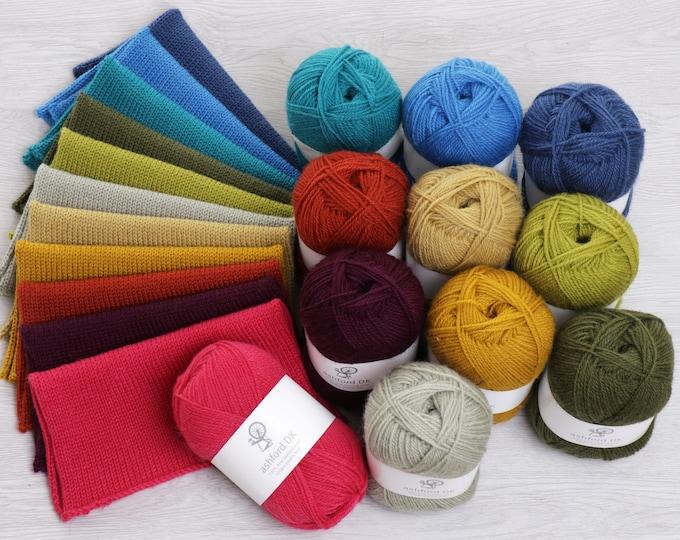 Ashford DK Double Knit Yarn: Fashion Colours