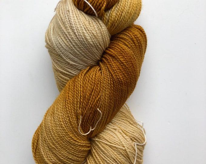 Mineville Wool Project BFL 3 ply sock yarn