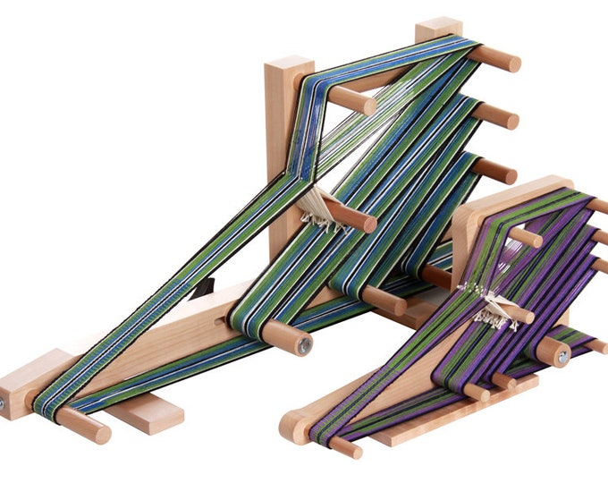 Ashford Inkle or Inklette Loom - incl. shuttle and clamp