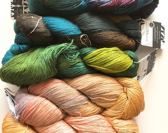 Hand Maiden Camelspin yarn