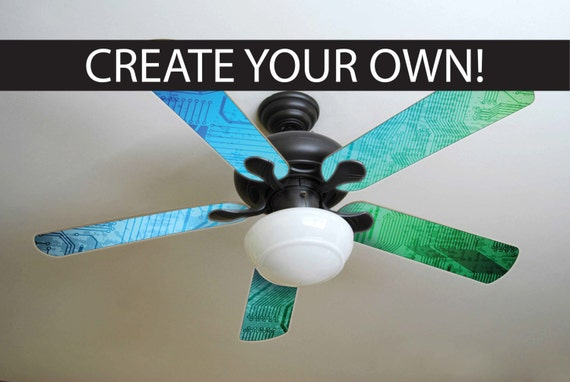 Custom ceiling fan blades made just for you mozeypictures Gallery